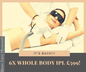 IPL hair removal offer